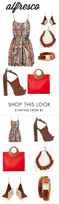 """Untitled #2164"" by nadia-n-pow on Polyvore featuring Aquazzura, Michael Kors, STELLA McCARTNEY, Hermès and alfrescodining"
