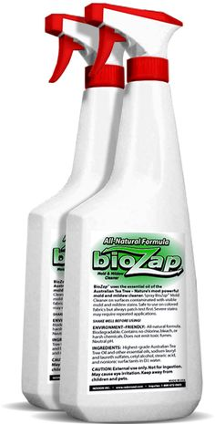 Biozap Mold Amp Mildew Cleaner Air Purifier All Natural