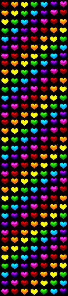 Rainbow Hearts!   ♥