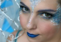 Halloween: Ledová Královna Makeup Tutorial