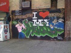 washington heights graffiti | Dister , Washington Heights NYC