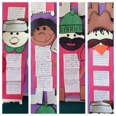 Tall Tale Graphic Organizers- Johnny Appleseed, John Henry, Paul Bunyan, & Pecos Bill ☺️!!!!