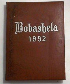 Bobashela:  1952 Millsaps College Yearbook, Jackson Mississippi, Americana Illus