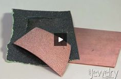 Learn how to impress a texture onto annealed metal using a rolling mill.