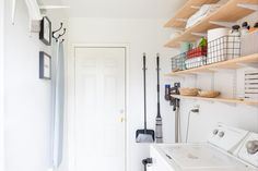 Here are some of the best ways to turn this small, often neglected room into its very best self. Basement Laundry, Laundry Area, Laundry Rooms, Laundry Hamper, Doing Laundry, Laundry Hacks, Collapsible Laundry Basket, Laundry Supplies, Clothes Drying Racks