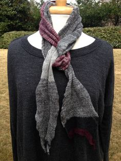 One of a Kind scarf by SKNITSB  www.sknitsb.com