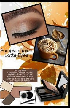 Create this fantastic fall look with Mary Kay Crystalline, Amber Blaze and Espresso Eye Colors; and Gel Eyeliner. Add a little Sunny Spice to the cheeks and you are ready for fall! Spa Facial, Facial Scrubs, Facial Masks, Maquillage Mary Kay, Selling Mary Kay, Mary Kay Party, Mary Kay Ash, Mary Kay Cosmetics, Beauty Consultant