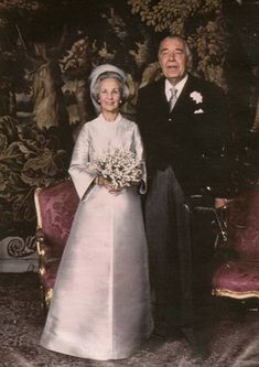 Sweden - 1976 wedding day of Prince Bertil and Princess Lilian