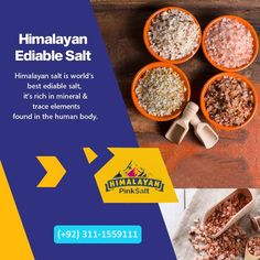 We are certified edible Himalayan pink salt exporter and supplier. The Himalayan salt edible can be used to stimulate circulation, relax the body, soothe sore muscles, and remove toxins from the body, besides giving a healthy and naturally controlled supply of necessary minerals and nutrients to the human body. For order Contact us: (+92) 311-1559111 Email: info@himalayan-pinksalt.com #himalayan_salt_wall #himalayan_salt_usblamp_exporter #himalayan_salt_manufacturer #himalayan_salt_exporter Remove Toxins From Body, Himalayan Salt Bath, Table Salt, Sore Muscles, Human Body, Healthy, Pakistan, Minerals, Rest
