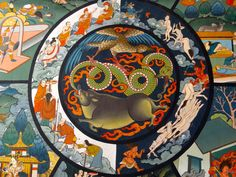 The Six Realms of Samsara in Tibetan Buddhism   Yes, even Buddhists believe in Hell, and their notion of it is no less torturous and fiery than the Abrahamic religions depict it to be. This is the intense experience of suffering that we might go through as a human but all in the physical form;