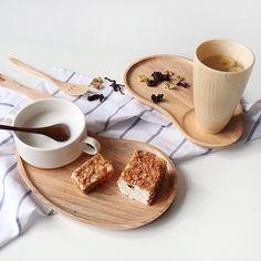 日式创意实木小托盘早餐盘子茶托盘 木质蛋糕盘日料寿司盘点心盘