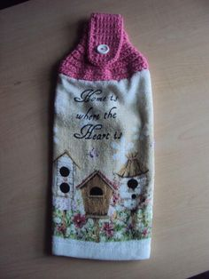 You have to see Crochet Towel Topper by Creative Creations by Vicki!