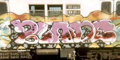 blade16 New York Subway, Nyc Subway, Subway Art, Graffiti History, New York Graffiti, Graffiti Drawing, Graffiti Lettering, Typography, 3d Street Art