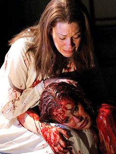carrie the musical - Marin Mazzie and Molly Ranson