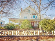 Offer accepted after first showings! Can't wait to see what the buyer will do to the place! Couldn't be more grateful for my clients trust in me to sell their property. I truly love what I do 😊 #offeraccepted #attleboro #massachusetts #southmain #sold #quickclose #multifamily #fixerupper #openhouse #realestate #realestateagent #realestateinvestor #realtor #realtorlife #realtorsofig #localrealtors - posted by Koury Signoriello https://www.instagram.com/northattlebororealestate - See more…