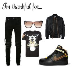Untitled #123 by losdollas on Polyvore featuring polyvore, fashion, style, AMIRI, Givenchy, clothing and imthankfulfor