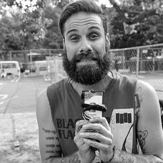 Jason Aalon Butler. Served him a drink at work today.