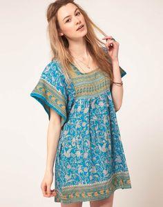 People Tree Recycled Sari Dress