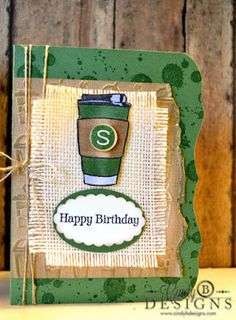 Fall Coffee Lovers Blog Hop | Skipping Stones Design
