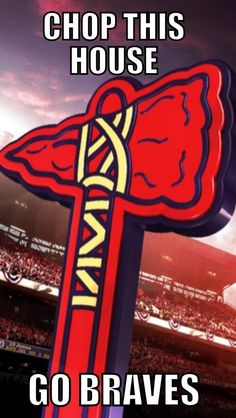 Chop this house, Chop on Braves Brave Wallpaper, Braves Baseball, Football, Buster Posey, Tampa Bay Rays, Oakland Athletics, Seattle Mariners, Kansas City Royals, St Louis Cardinals