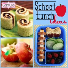 Back to School: Easy Lunch Box Ideas ~ Back to School activity~ lunch ideas Healthy Lunches For Kids, Lunch Snacks, Kids Meals, Kid Snacks, Easy Lunch Boxes, Lunch Ideas, Sweet Recipes, Whole Food Recipes, Good Food