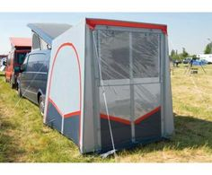 Rear tents for campers