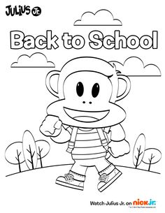 Head back to school with Julius Jr.!