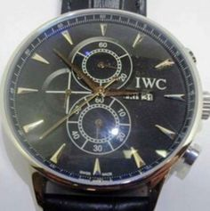 [Identify] This IWC watch my friend has bought. I'm not familiar with the style and think it could be a fake. Does anyone recognize it?