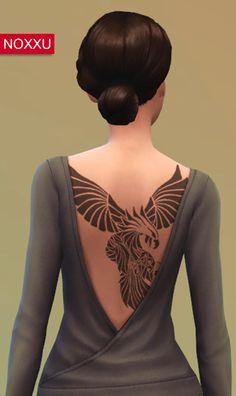 Eagle Back Tattoo
