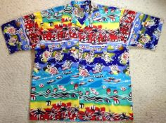 PINEAPPLE CONNECTION HAWAIIAN Shirt MENS Size XL #PineappleConnection #Hawaiian