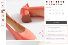 10 Ecommerce Product Description Examples That Sell (Not Tell) - Sumo (Apr Ecommerce Seo, Italian Leather, Heeled Mules, Product Description, Sumo, How To Make, Marketing