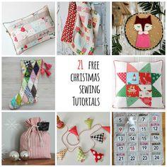 s.o.t.a.k handmade: 21 free christmas sewing tutorials