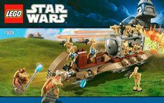 The Battle of Naboo™ 7929 - LEGO Star Wars TM - Building Instructions - LEGO.com