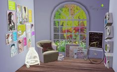 Mony Sims: Art Studio converted from TS2 to TS4 • Sims 4 Downloads