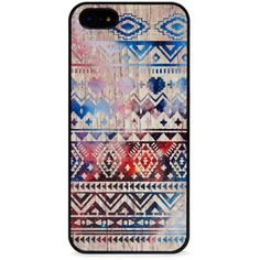 Blissfulcase Aztec Space on Wood Iphone Case (£20) ❤ liked on Polyvore featuring accessories, tech accessories, phone cases, phones, iphone, cases, wooden iphone case, iphone cover case, wood iphone case and iphone case