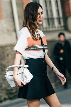 how to accent your street style outfit with fashion designer handbags?