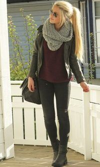Casual Look #fall #fashion