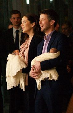 "Crown Prince Frederik and Crown Princess Mary showed the newborn over Denmark on 14 January. 2008 All Mary and Frederik's four children were born at ""Rigshospitalet""."