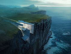 This Sublime Cliffside House Channels the Spirit of Ando, Kundig and Kahn - Architizer