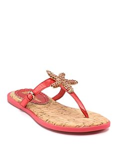"""Juicy Couture """"Frankie"""" Flat Sandals"""
