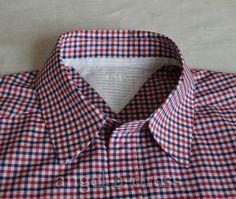 0e763983 Мастер класс с подробностями и секретами. Cuello de Camisa de Hombre