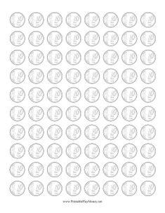 Resultado de imagen para monedas chilenas recortables