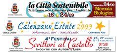 Comune di Calenzano - Striscioni iniziative. Realizzazione: Agenzia Verde
