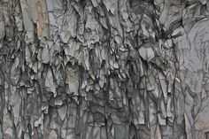 Rock Fractures taken by Robert Hodgin in Iceland at a cave near Dyrhólaey