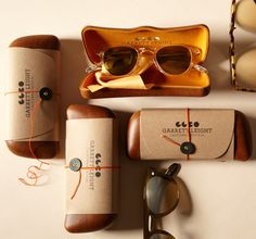 Loving the Garrett Leight packaging - and of course I have a mild (yes mild) obsession with sunglasses!