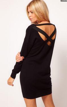 ASOS Crossback Sweater Dress - $38.00