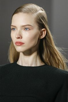 Sasha Luss at Calvin Klein Fall 2013