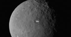 A dwarf planet is shining two bright lights at a NASA spacecraft right now, and our smartest scientists are unsure what they are. As bizarre as that sentence sounds, that's the ...