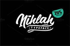 Nihlah Typeface by ADIL BUDIANTO on Creative Market