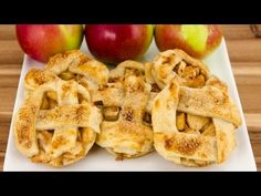 Learn how to make homemade apple pie cookies from scratch! Please watch our apple video to see how to make the apple pie filling and apple pie crust that we . Apple Pie Cookie Recipe, Apple Pie Cookies, Cookie Pie, Apple Pie Recipes, Sweet Recipes, Baking Recipes, Cookie Recipes, Baking Desserts, Drink Recipes